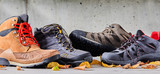 Assorted casual sneakers and leather boots - 221729729