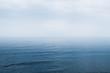 Leinwandbild Motiv Blue Sea and beautiful cloudy sky seascape