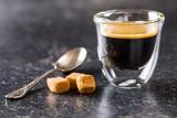Cup of espresso coffee - 221736587