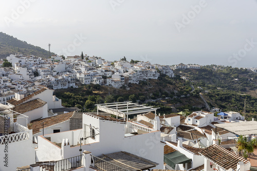 Typical Andalusian Spanish white villages