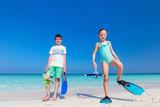 Kids at beach - 221739980