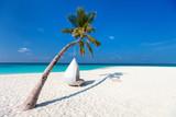 Beautiful tropical beach in Maldives - 221740747