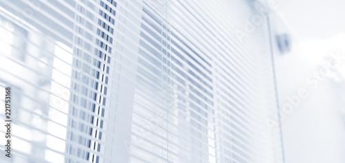 Window jalousie at modern apartment - 221753168