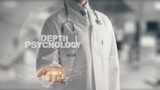 Doctor holding in hand Depth psychology - 221757919
