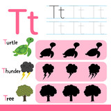 worksheet vector design for kid