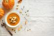 Pumpkin soup - 221782564