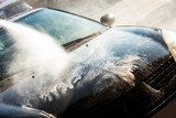 car wash with high water pressure - 221793355