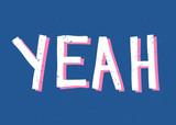 Yeah Retro Typographic Design - 221801569