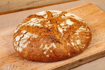Homemade tasty bread