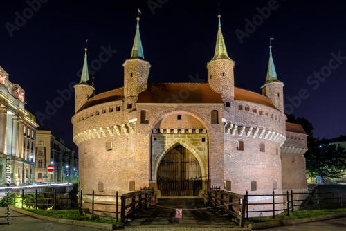 Krakow Barbican, Poland