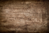 Dark Brown Wood Texture with Scratches
