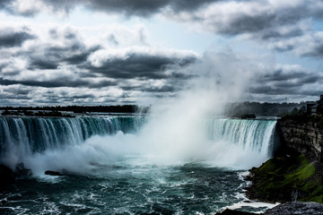 Niagara Falls on stormy day © Christopher