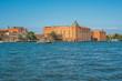 Beautifull view of Venice. Giudecca island. Gradn canal. Region Veneto. Italy