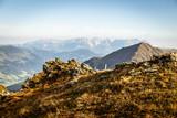 Berglandschaft im Sommer mit Wilder Kaiser Gebirge - 221853135