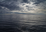 Baltic sea in a cloudy day. - 221873733