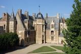 Cour intérieure château Aisnay-le-vieil - 221882527