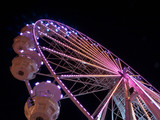 Night fair in Bavaria with a lot of fun in neon - 221883531