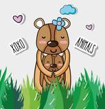 Cute bears cartoons - 221905556