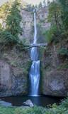 Multnomah Falls in the Columbia River Gorge near Portland