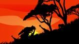 アフリカの草原と動物 - 221927379