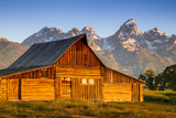 Mormon Row in Grand Teton National Park - 221929529