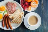 Fresh english breakfast - 221932765