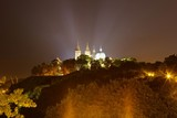 View on Illuminated Plock Cathedral, Poland - 221964911