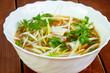 Cold Vietnam chicken soup