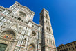 Leinwanddruck Bild - View on the Cathedral of Santa Maria in Florence, Italy on a sunny day.