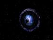 Wurmloch im Universum