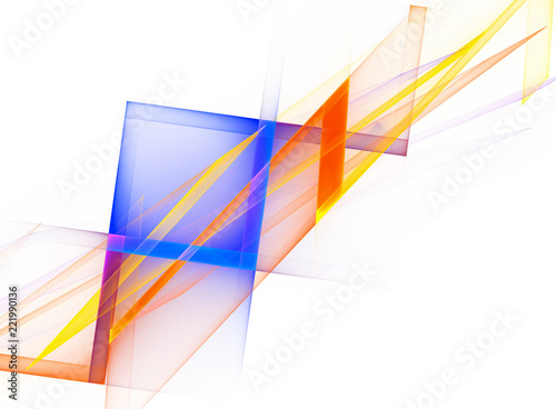 Abstract background with geometric shape - 221990136