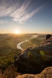Sonnenaufgang in der Sächsischen Schweiz, Lilienstein - 221995784