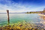 Lake Garda coast in Bardolino - 221998772