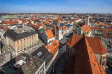 Panorama view of Munich, Germany - 222000359