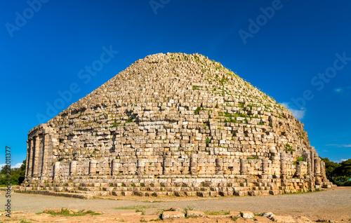 The Royal Mausoleum of Mauretania in Algeria