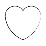 heart love symbol sketch - 222012580