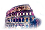 Rome Italy art illustration - 222014334