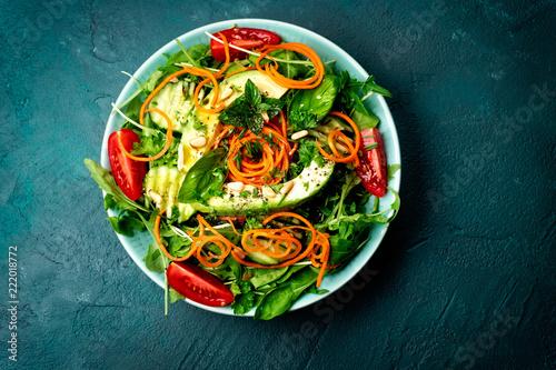 salat von oben - 222018772