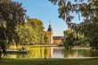 canvas print picture - Schlossgarten Karlsruhe