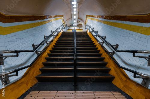 Subway stairway
