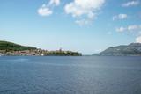 The view from Korcula island, Croatia - 222028798