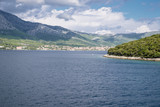 The view from Korcula island, Croatia - 222028925