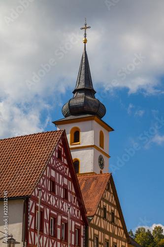 Sticker St. Bartholomäus in Pottenstein, Oberfranken