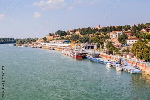 Panoramic View Of Belgrade Serbia