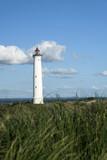 lighthouse on denmarks west coast, europe - 222045122