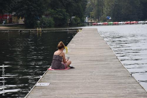 Acrylglas Pier Lago Ukiel
