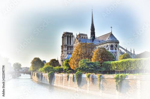 Fridge magnet Notre Dame de Paris.