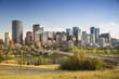 Calgary downtown skyline cityscape in Alberta Canada