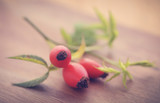 Rose hips with extracted essential oil - 222058948