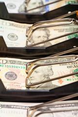 Money Cash Register Tray